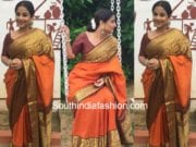 vidya balan gaurang shah kanjeevaram saree