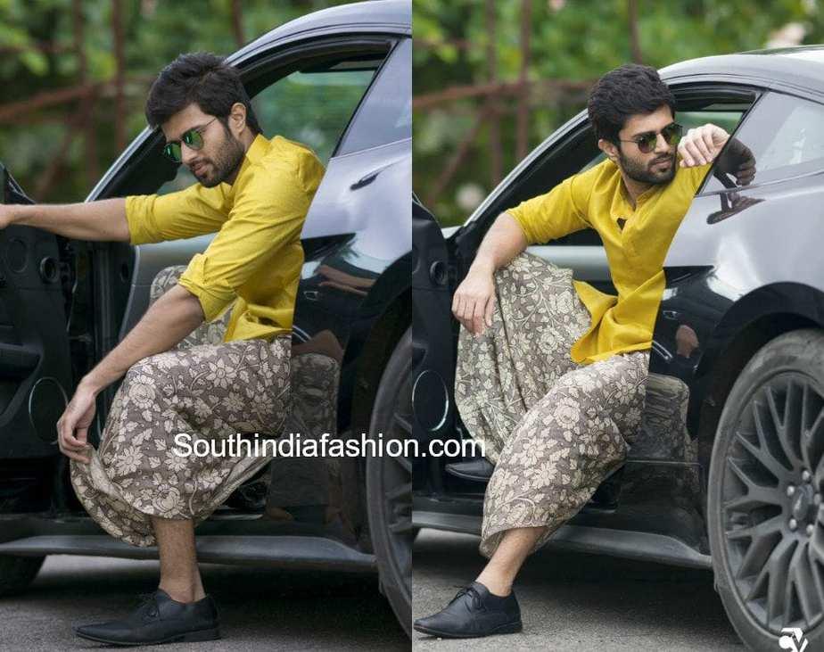 vijay devarakonda klm mall launch panche shirt