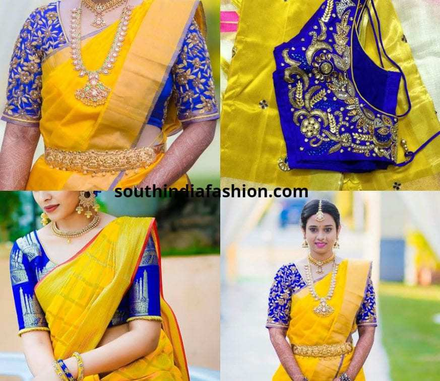 d48a250c0c15be Add More Sunshine With These 5 Best Blouse Combinations For Yellow ...