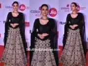 Aditi Rao Hydari in Mayyur Girotra at Marathi Filmfare Awards 2017