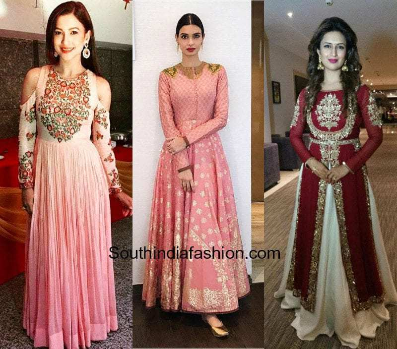 Anarkali Gowns