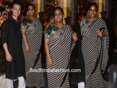 Arpita Khan at Sanjay Dutt's Diwali Party