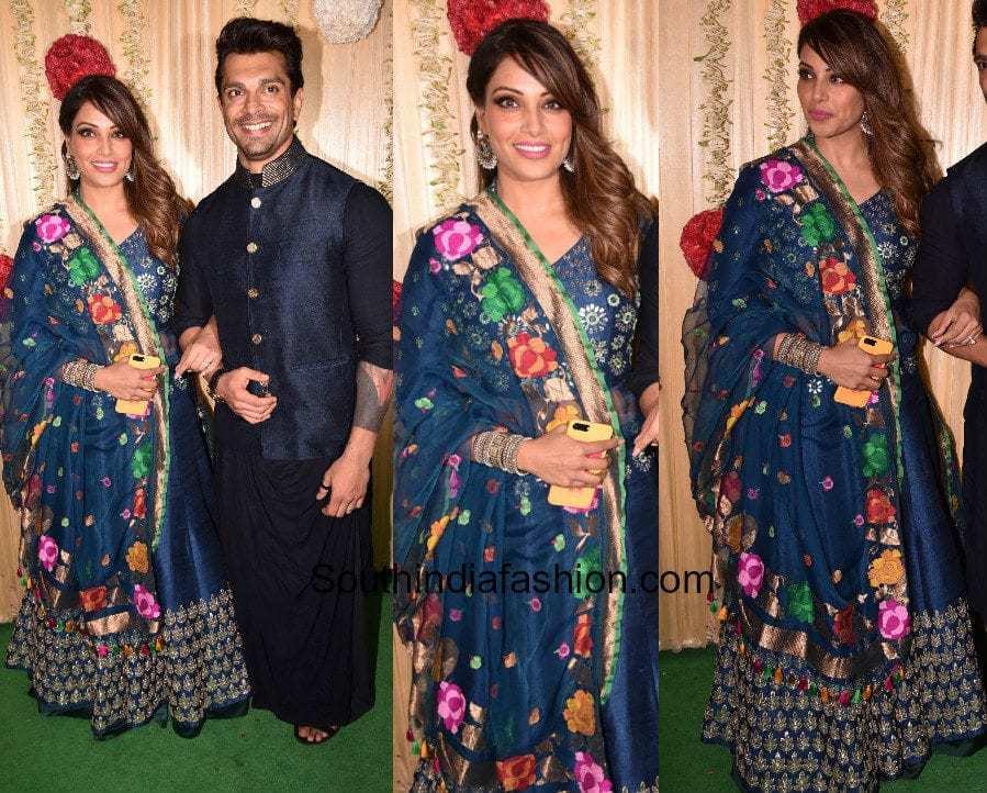 Bipasha Basu in Devnaagiri at Ekta Kapoor's Diwali Party