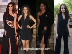 Bollywood celebrities in all in all black outfits featured