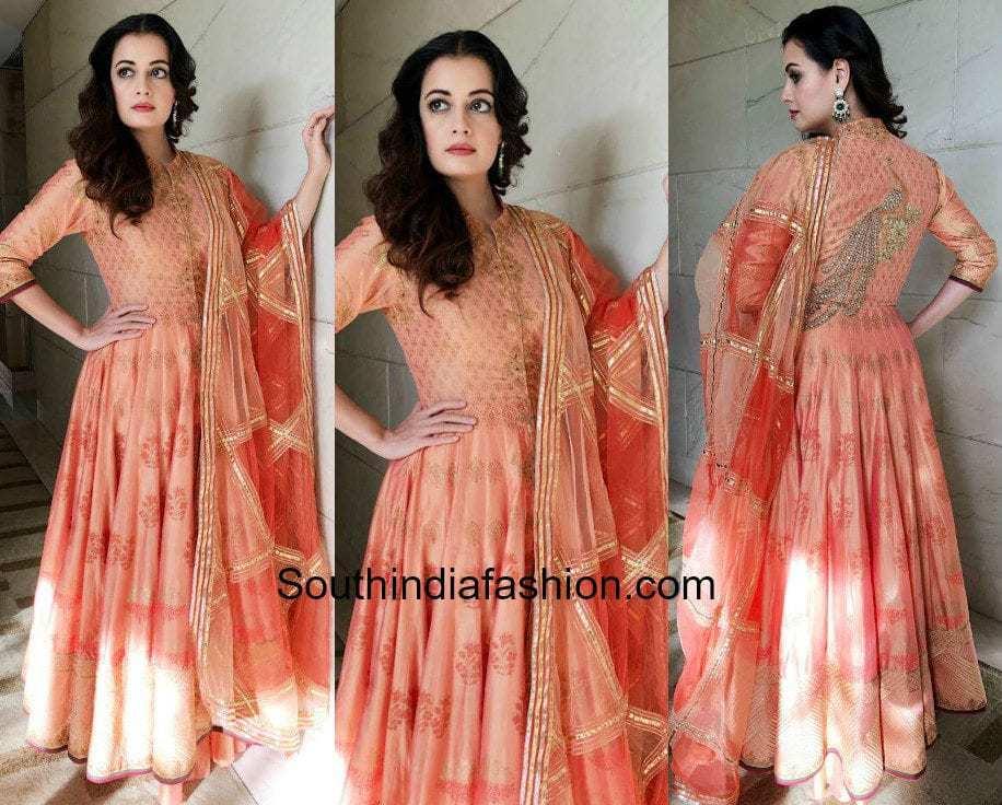 Dia Mirza in Rimple and Harpreet Narula for Diwali