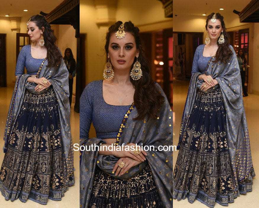 Evelyn Sharma in Sukriti and Aakriti for a photoshoot for Indian Beach Fashion Week