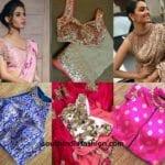 10 Fancy Blouses For Fancy Sarees
