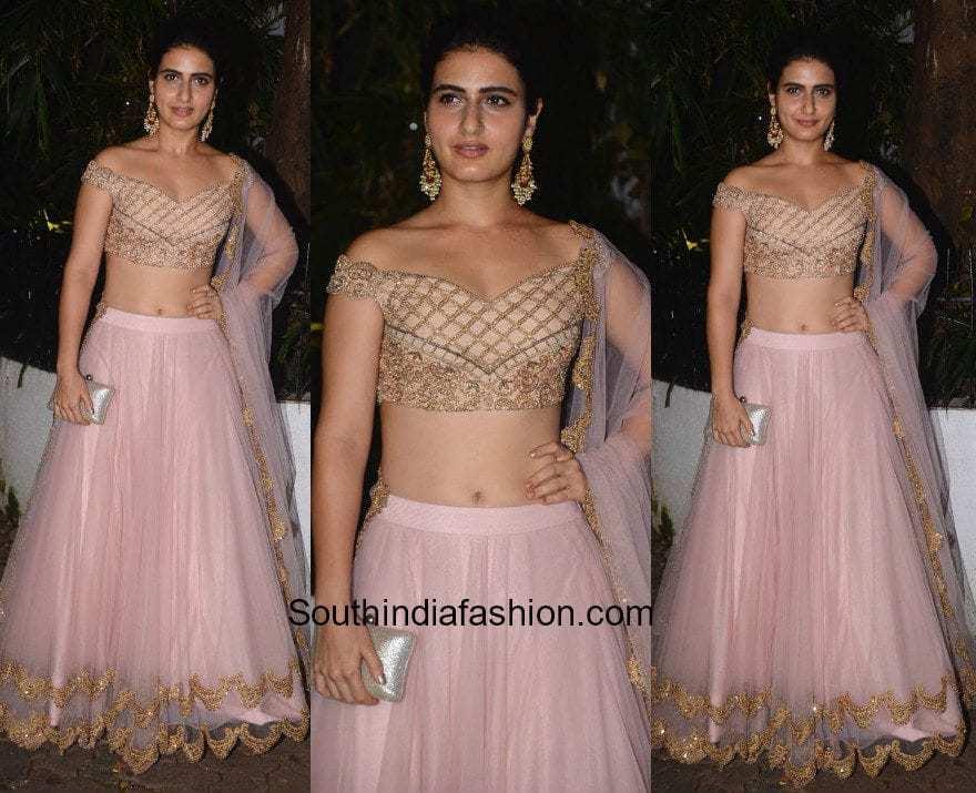 Fatima Sana Shaikh in Sonaakshi Raaj at Amir Khan's Diwali party 1