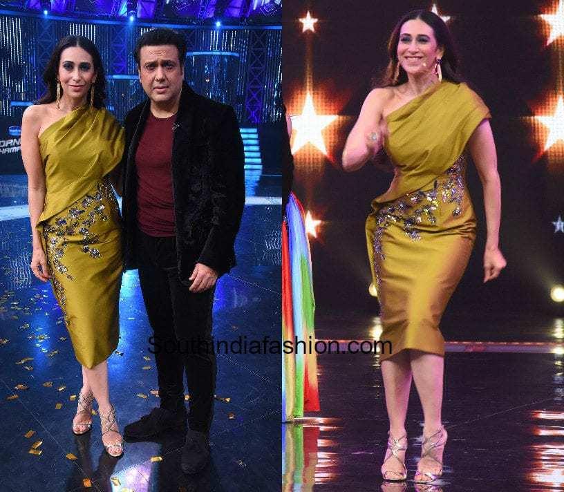 Karishma Kapoor in Rajat Tangri on the sets of Dance Champions (2)