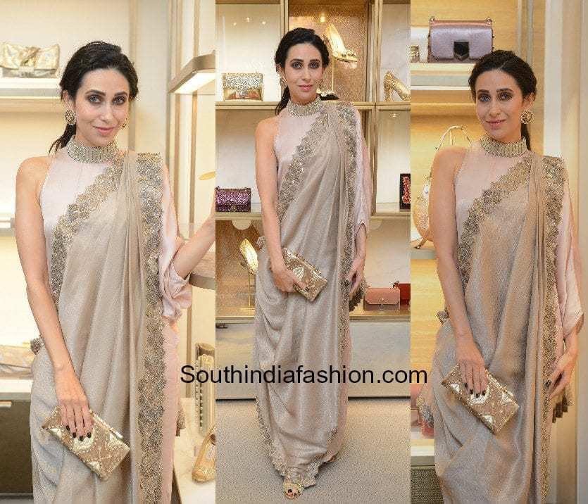Karishma Kapoor In Kiran Uttam Ghosh South India Fashion