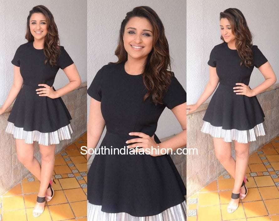 Parineeti Chopra in DISO for Golmaal 4 promotions