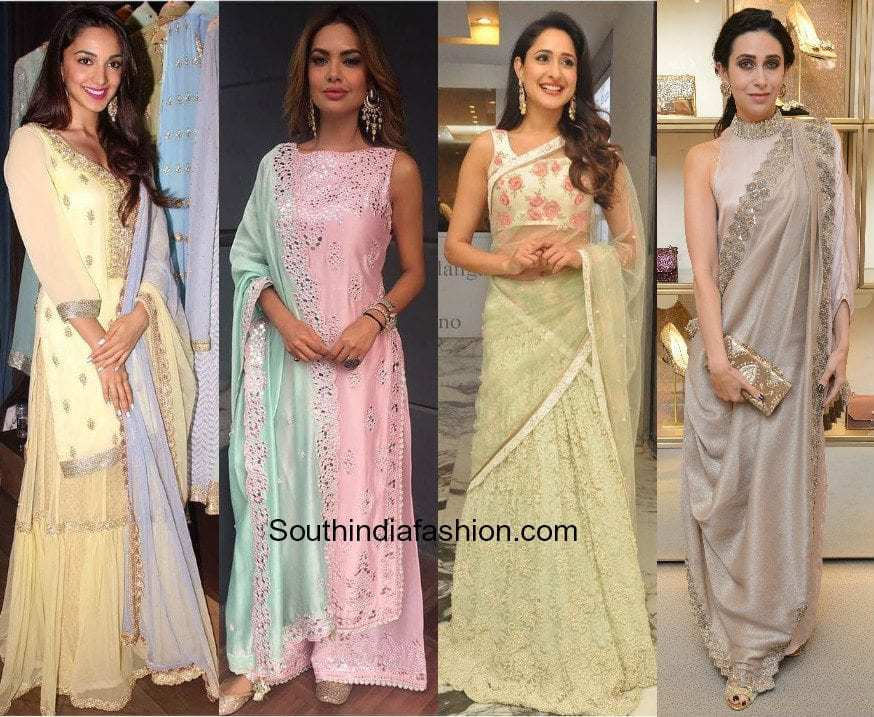 newest 1f74a 1d618 HOT TREND: Pastel Outfits For The Win – South India Fashion