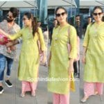 Mira Kapoor's Casual Ethnic Look