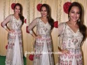 Sonakshi Sinha in Varun Bahl at Ekta Kapoor's Diwali Party