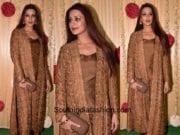 Sonali Bendre in Rohit Bal at Ekta Kapoor's Diwali Party