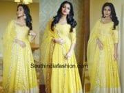 amala paul abhinav mishra yellow anarkali mobile store launch chennai