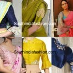 Hottest Trend:  Bell Sleeves and Ruffle Sleeves Saree Blouse Designs