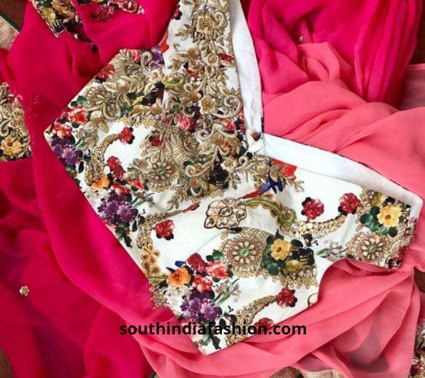 off shoulder fancy blouse