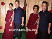 ilena with boyfriend diwali party
