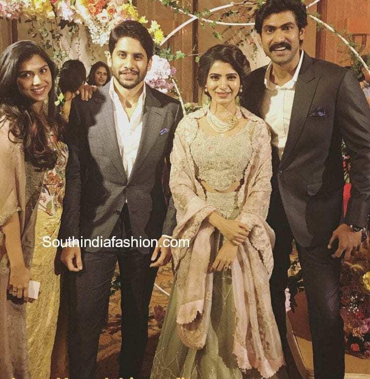 samantha naga chaitanya wedding reception chennai