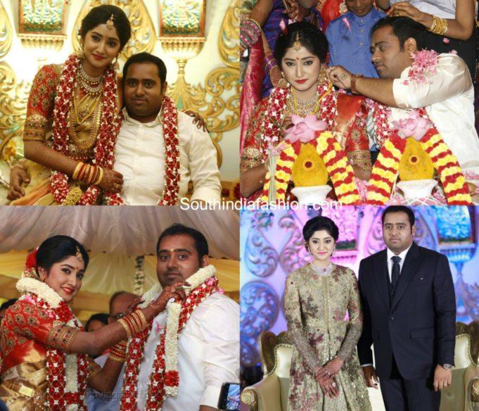 Producer Abinesh Elangovan Nandhini Wedding
