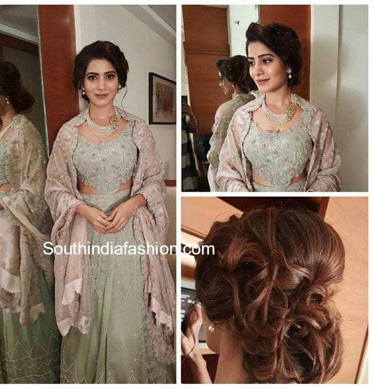 Korina Sanchez Wedding Gown: Samantha Naga Chaitanya Wedding Reception 2018