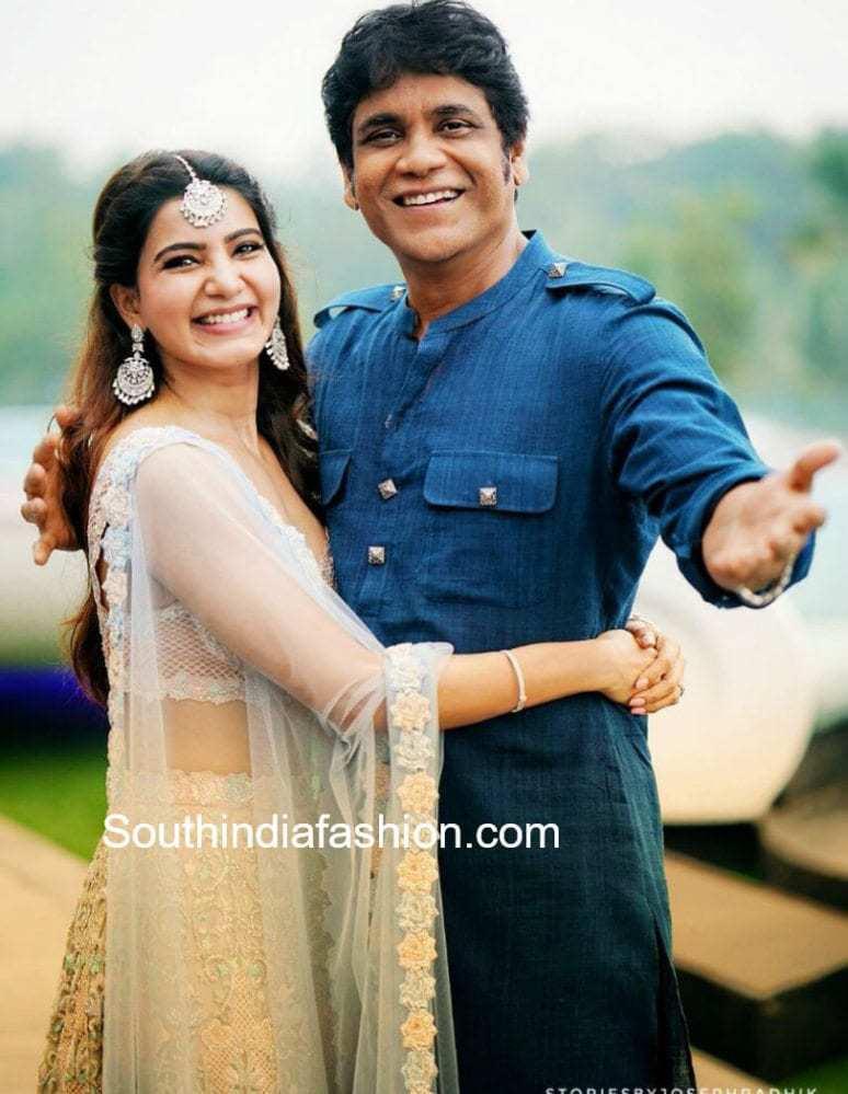 samantha nagarjuna at wedding