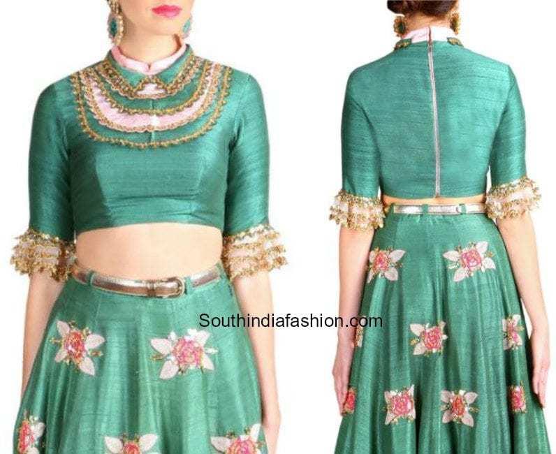 papa dont preach by shubhika blouse designs