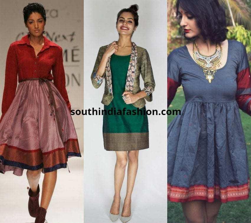 Silk Saree Dresses