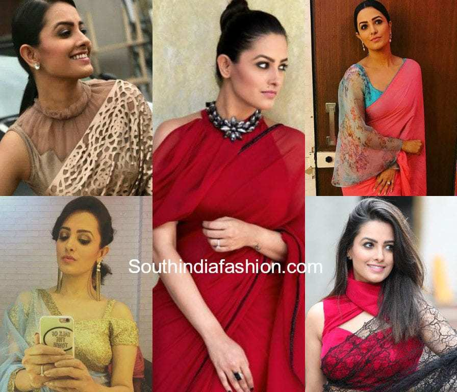 fa50259e7c91f9 14 Super Trendy Blouse Designs Sported by Anita Hassanandani – South ...