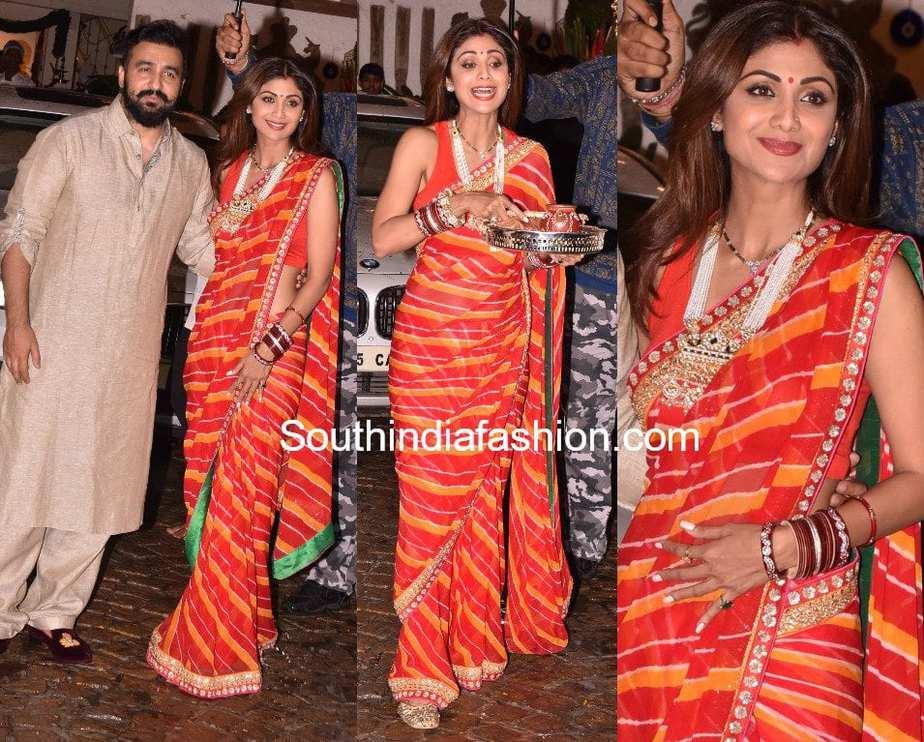 Mehndi Party Saree : Shilpa shetty wedding mehndi design. affordable esha deol with
