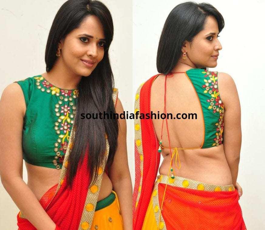 Anasuya Bharadwaj blouses