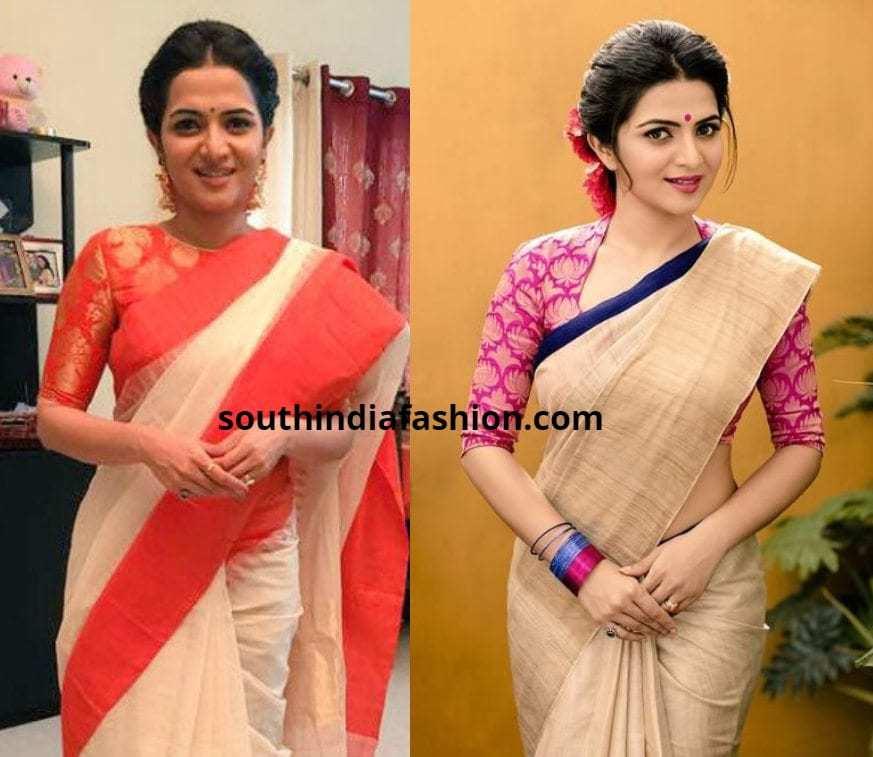 DD saree blouses