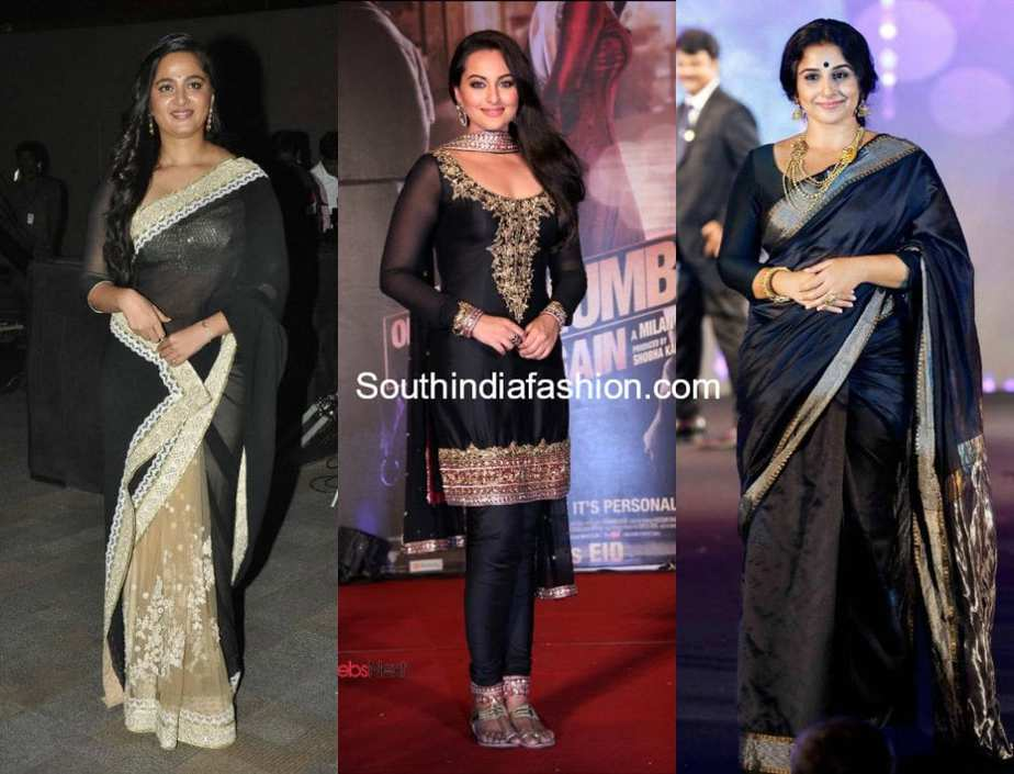 tips to look slim in sarees and anarkalis