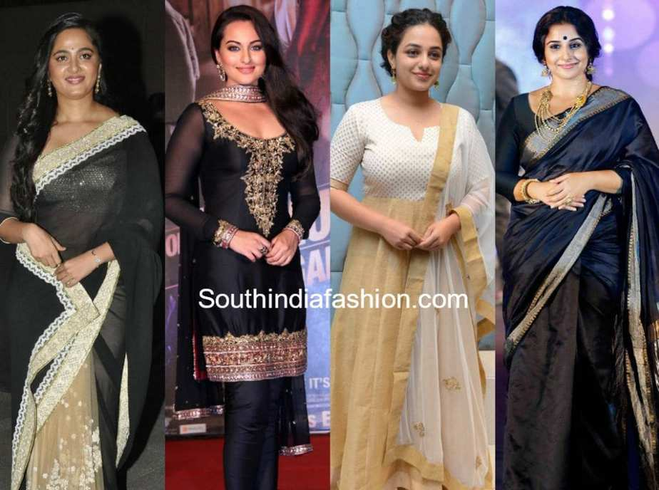 tips to look slim thinner in indian sarees and anarkalis