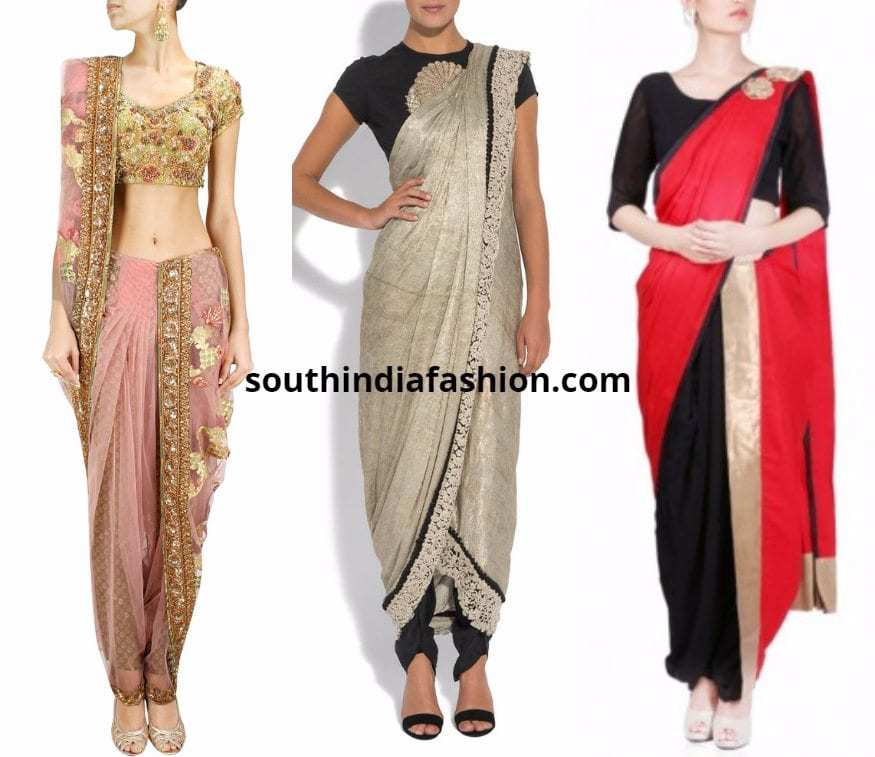 dhoti pants with dupatta