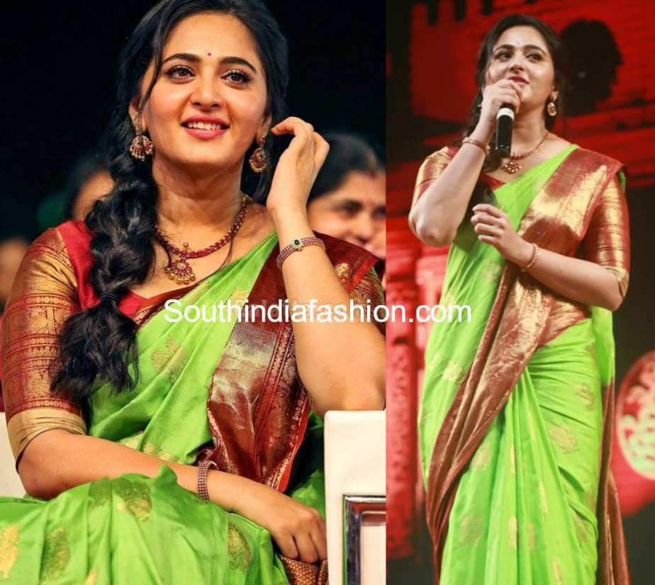 CELEBRITY SILK SAREE BLOUSE DESIGNS