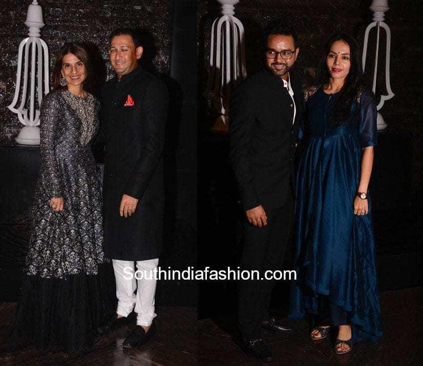 Celebs at Zaheer Khan Wedding