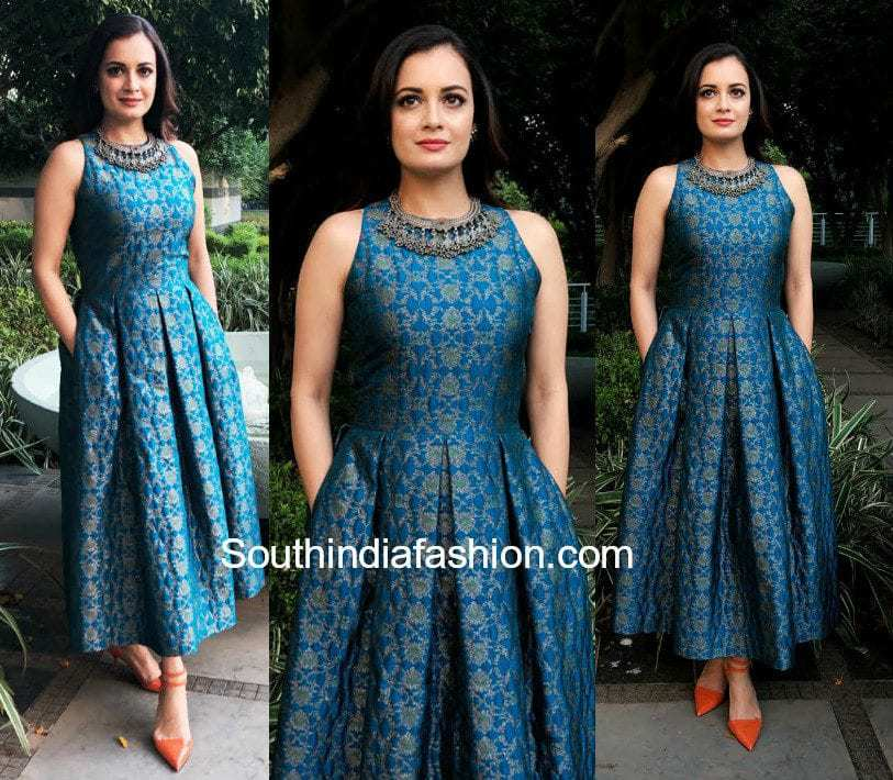 Dia Mirza in Payal Khandwala for an event