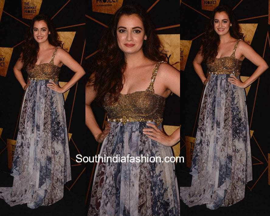 Dia Mirza in Rocky S at The Runway Project Restaurant Launch