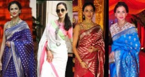 10 Ways To Style Sarees Like Shilpa Reddy