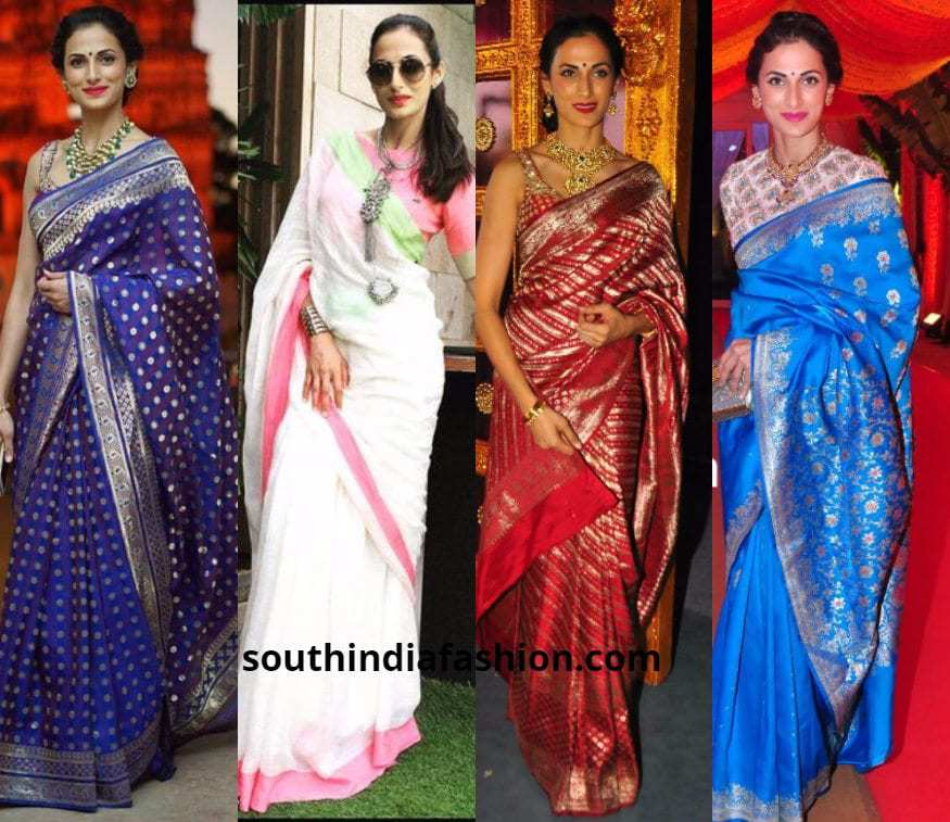 10 Ways To Style Sarees Like Shilpa Reddy