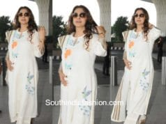 Juhi Chawla's ethnic look at the airport