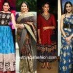 Celebrities Who Rocked In Kalamkaris