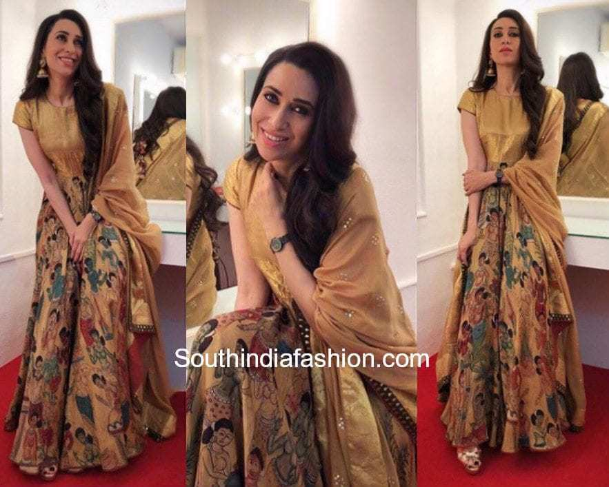 Karishma Kapoor in Gaurang Shah at a wedding