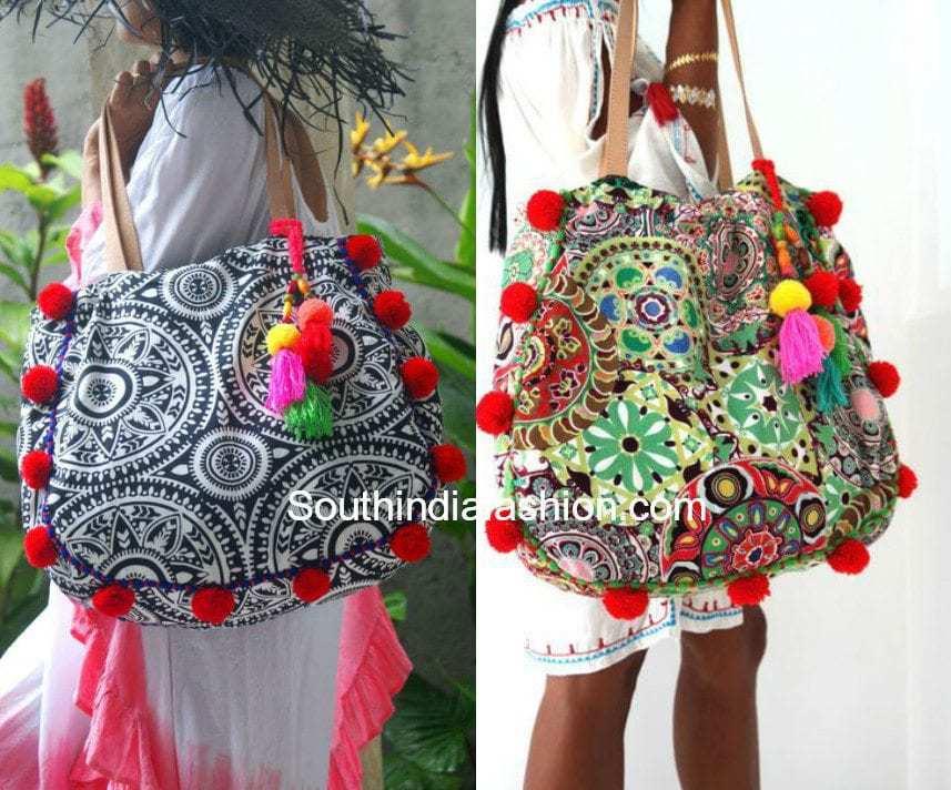 Pom Pom Bags