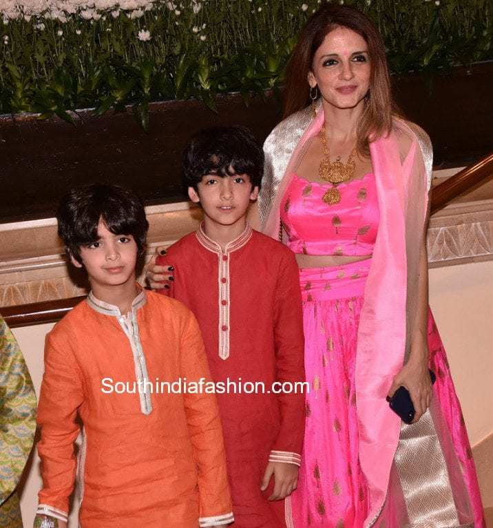 Suzanne Khan at Gautam Gupta's Wedding Reception –South ...