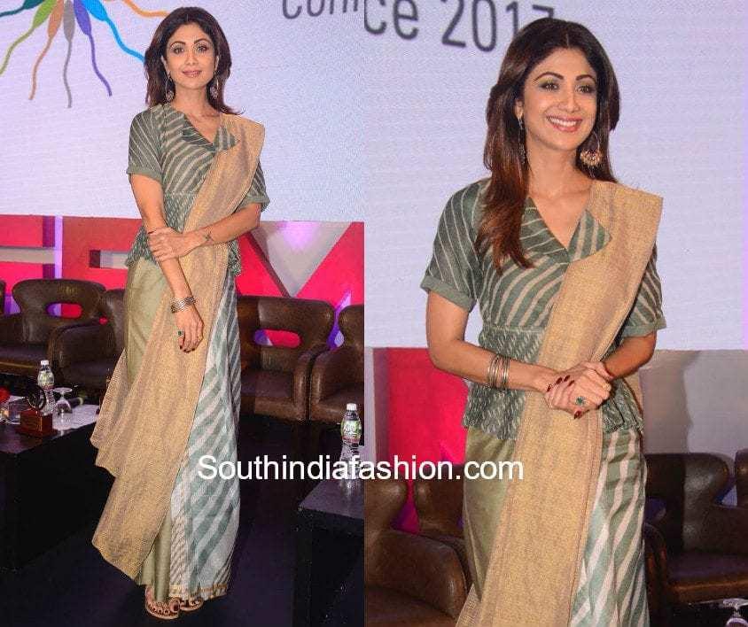 Shilpa Shetty in Urvashi Kaur for an event