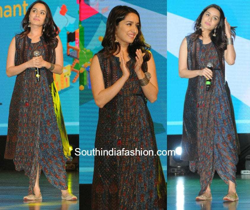 Shraddha Kapoor in Anita Dongre at an event
