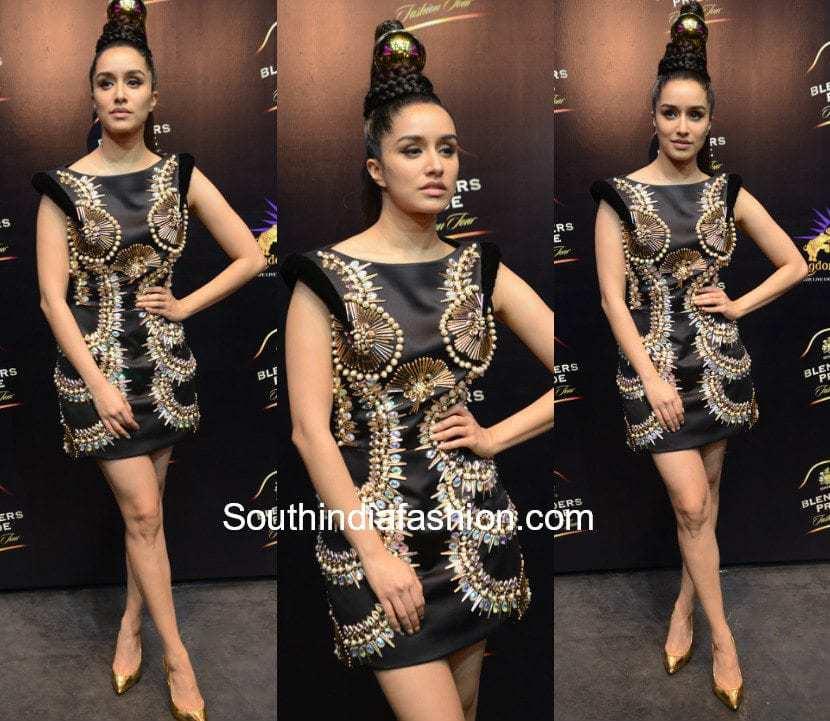 Shraddha Kapoor in Manish Arora for Blenders Pride Fashion Tour 2017